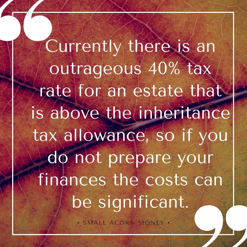 Inheritance tax allowance