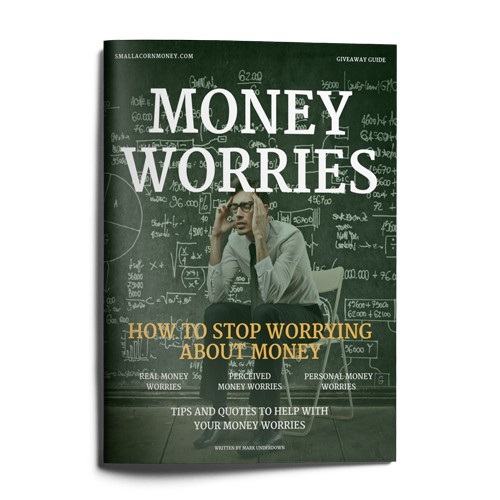 money worries brochure mockup