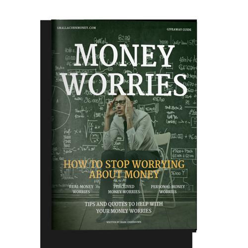 money worries brochure mockup